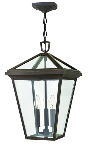 Hinkley - 2562OZ-LL - Three Light Hanging Lantern - Alford Place - Oil Rubbed Bronze
