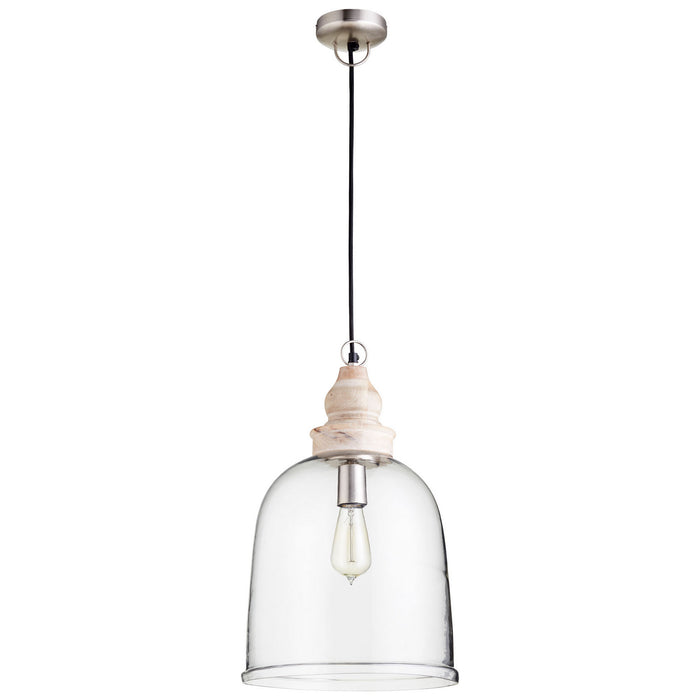 Cyan One Light Pendant in Natural finish