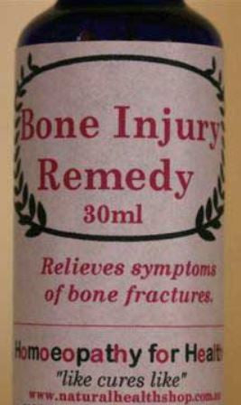 BONE INJURY REMEDY