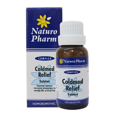 NATURO PHARM -  Coldmed Tablets