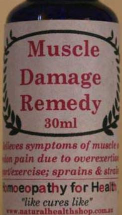MUSCLE DAMAGE REMEDY