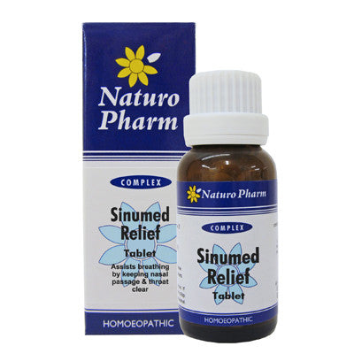 NATURO PHARM - Sinumed Relief Tablets