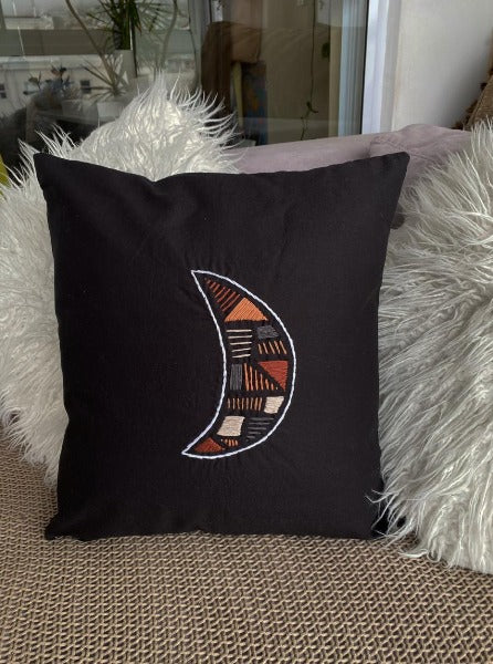 Moon cushion cover