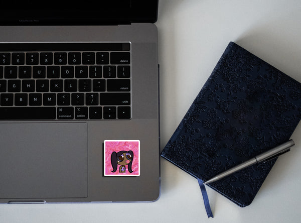 why stickers on laptops