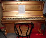Gold Upright Piano, Working
