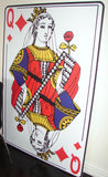 Giant Playing Card, Queen