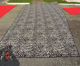 Black and White Zebra Carpet, Large
