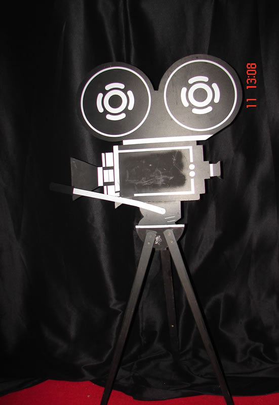 Camera Cut-outs on Stands