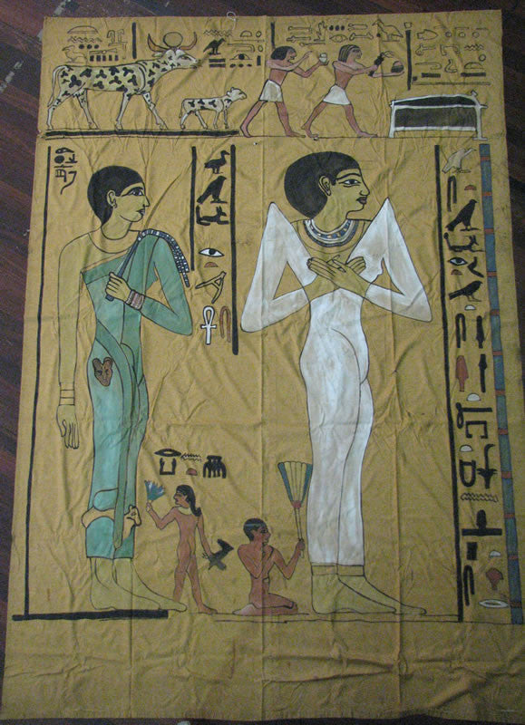 Curtain:  Egyptian Scene 1