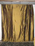 Gold Fabric Drapes