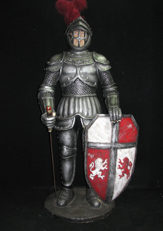 Medieval Knight Statue