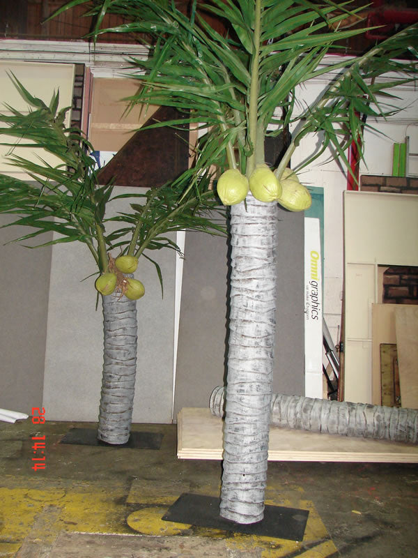 Palm Trees, Fibreglass Trunks Large