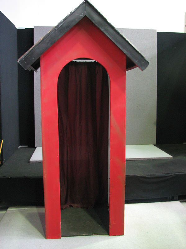 Red & Black Guard House