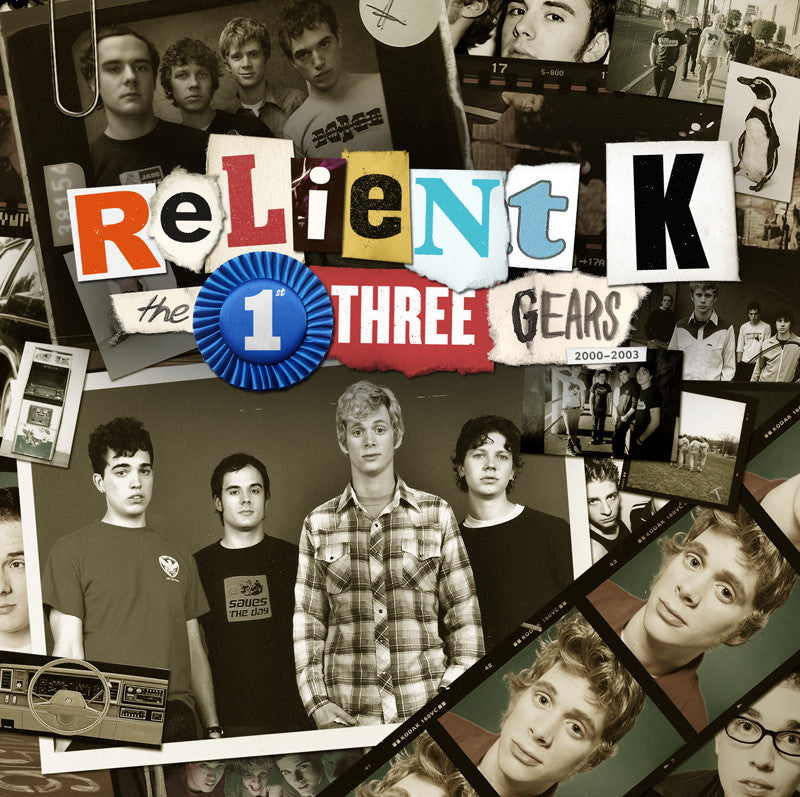 Relient K - The 1st Three Gears -3 CD set