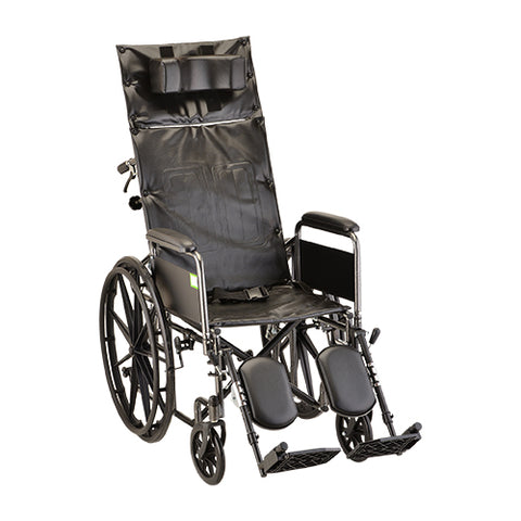 NOVA RECLINING WHEELCHAIR 18''