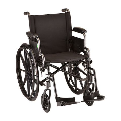 NOVA LIGHTWEIGHT WHEELCHAIR 18""