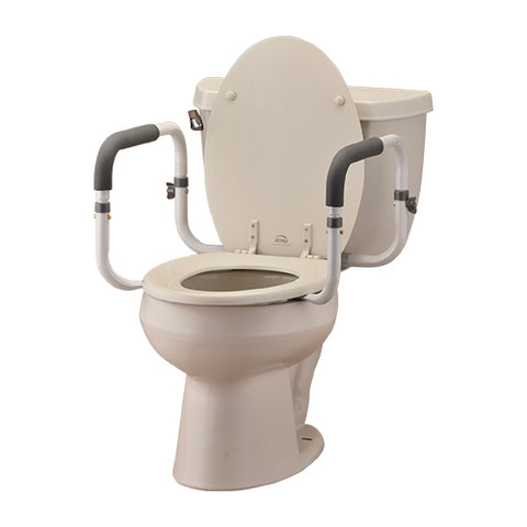TOILET SUPPORT RAILS