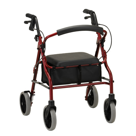 NOVA ZOOM 22 ROLLATOR RED