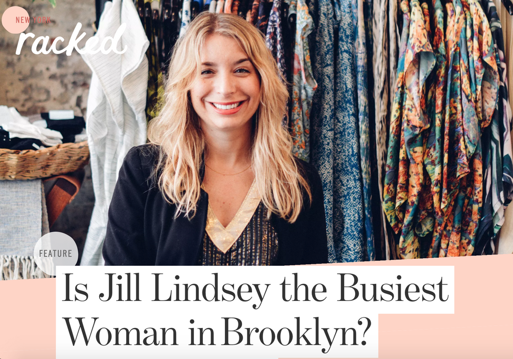 Is Jill Lindsey the Busiest Woman in Brooklyn?