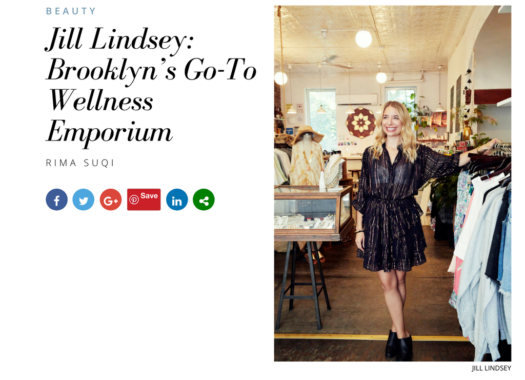Insider's Guide to Spa Names Jill Lindsey: Brooklyn's Go-To Wellness Emporium !