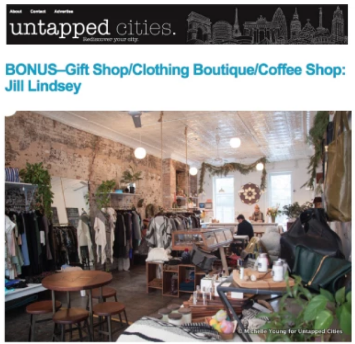 UNTAPPED Cities 8 Quirky Coffee Shops + JILL LINDSEY