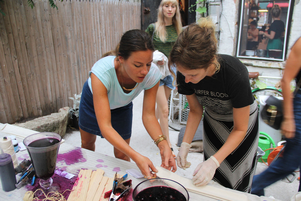 Natural Dyeing Workshop With UPSTATE