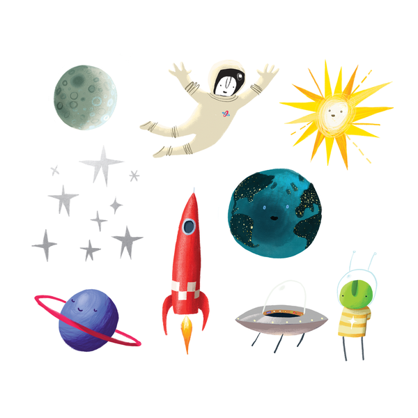 Tattly Space Explorer Set