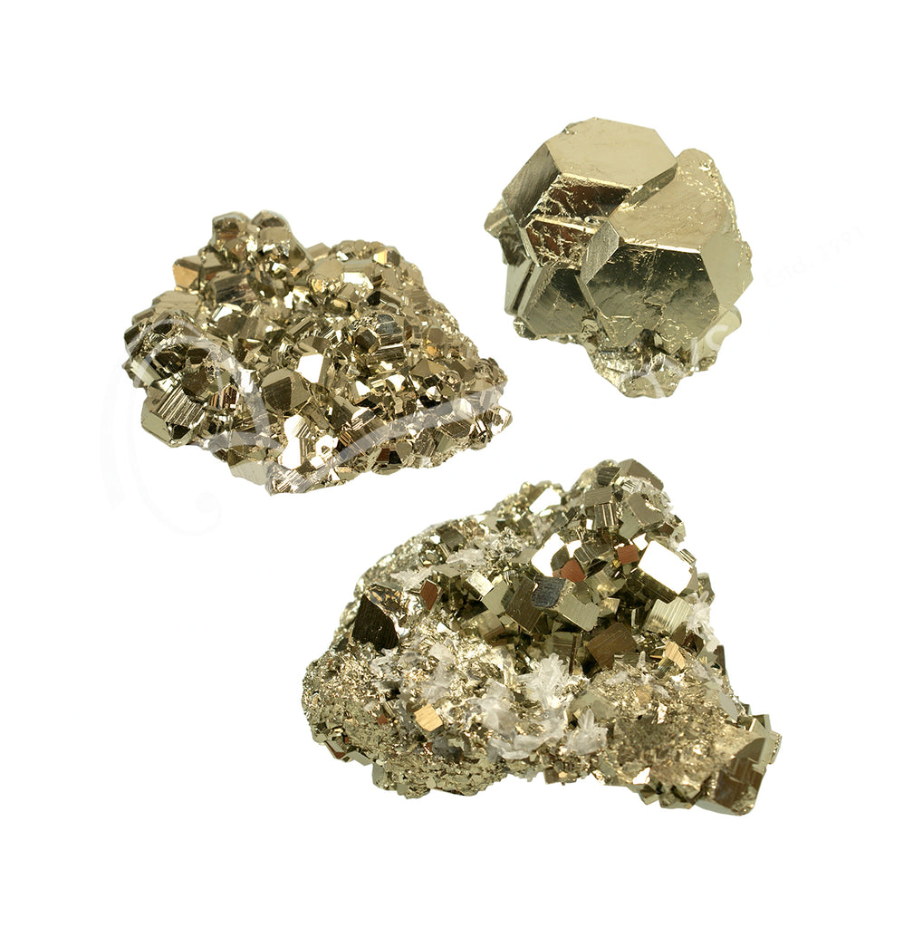 Pyrite Cluster Crystal