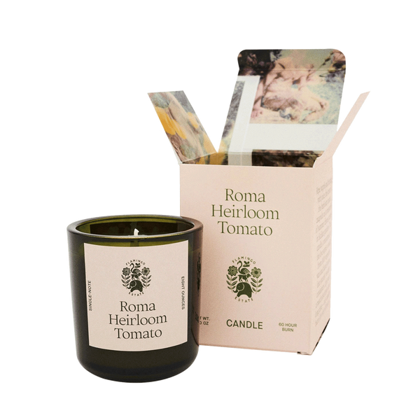 flamingo estate roma heirloom tomato candle