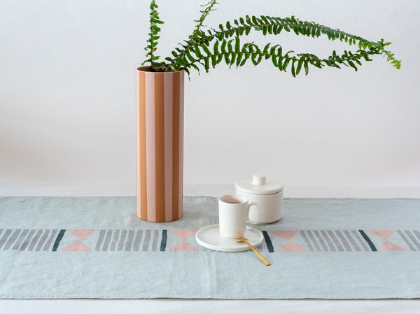 For Reasons Unknown - Bow Linen Table Runner