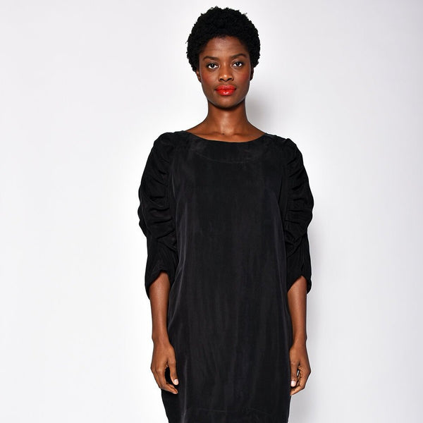 UZI NYC GILL DRESS BLACK
