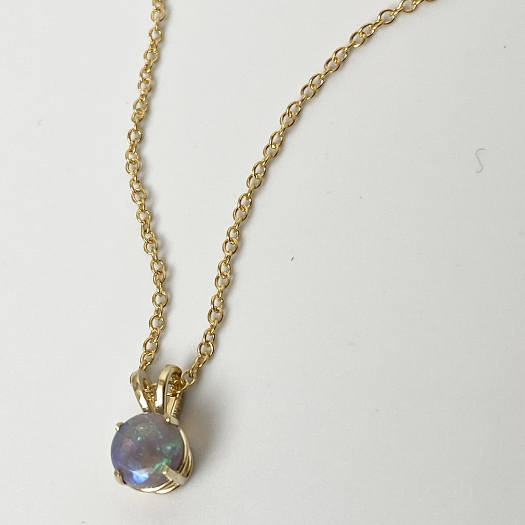 Jill lindsey Opal Necklace