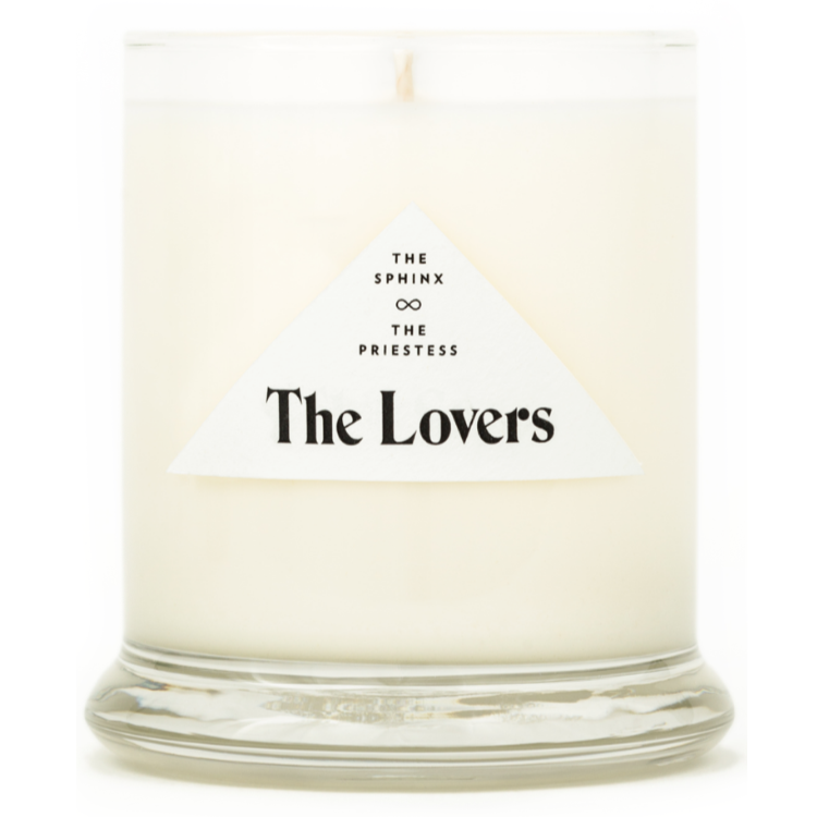 Sphinx & Priestess Lovers Candle