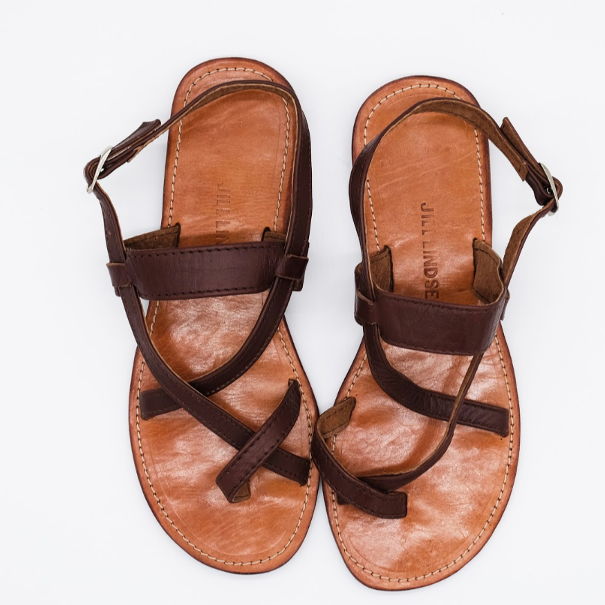 Jill Lindsey Leather Sandal