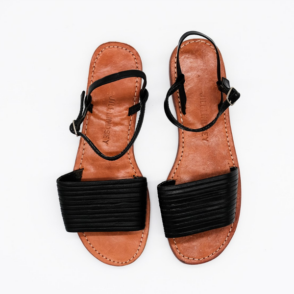 Jill Lindsey Black Sandals