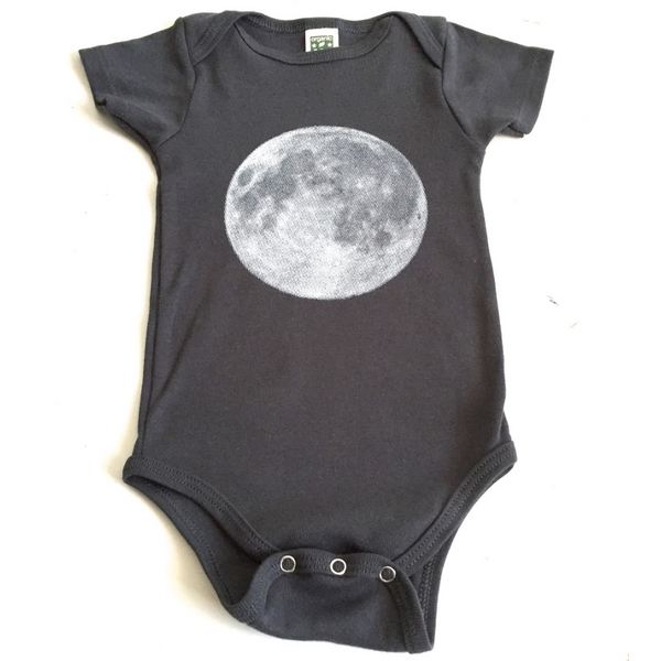 CAIRO - Grey Moon Onesie