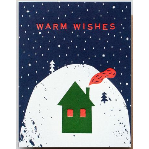 Hammerpress - Warm Wishes Cozy Cabin