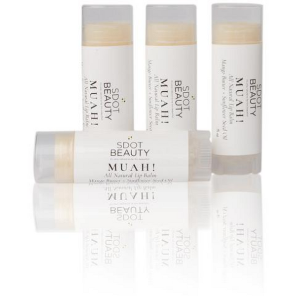 SDOT Beauty - MUAH! All Natural Lip Balm