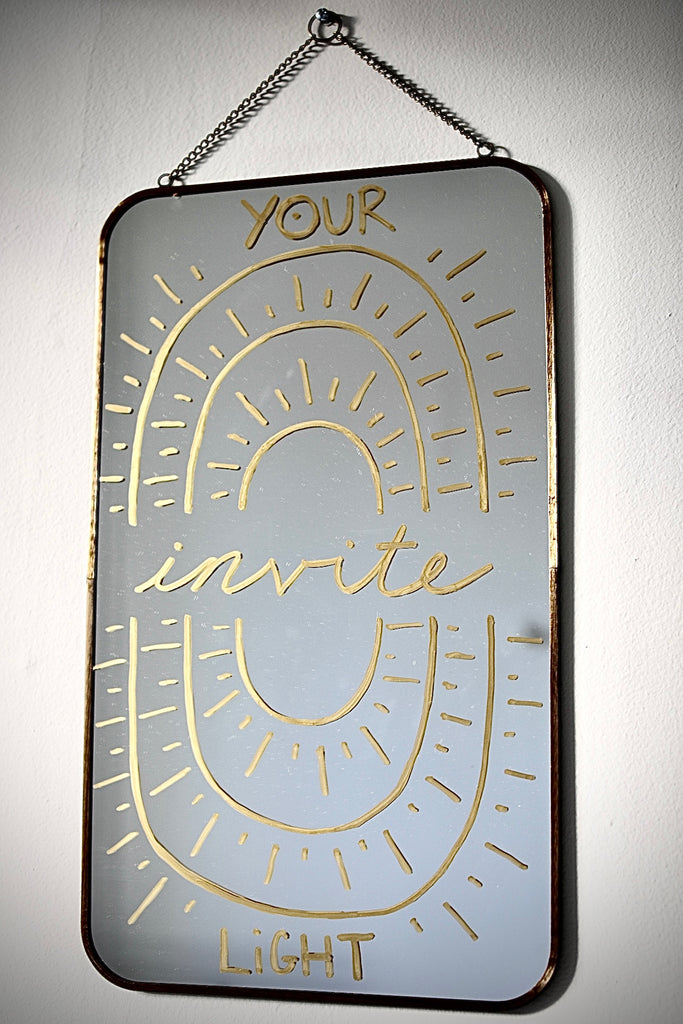Natalie Kuhn - Rectangle Vertical Hanging Mirror