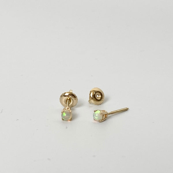 Jill Lindsey opal earrings