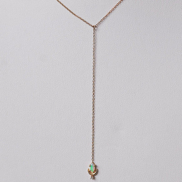 Sofia Zakia Lvna Lariat Necklace