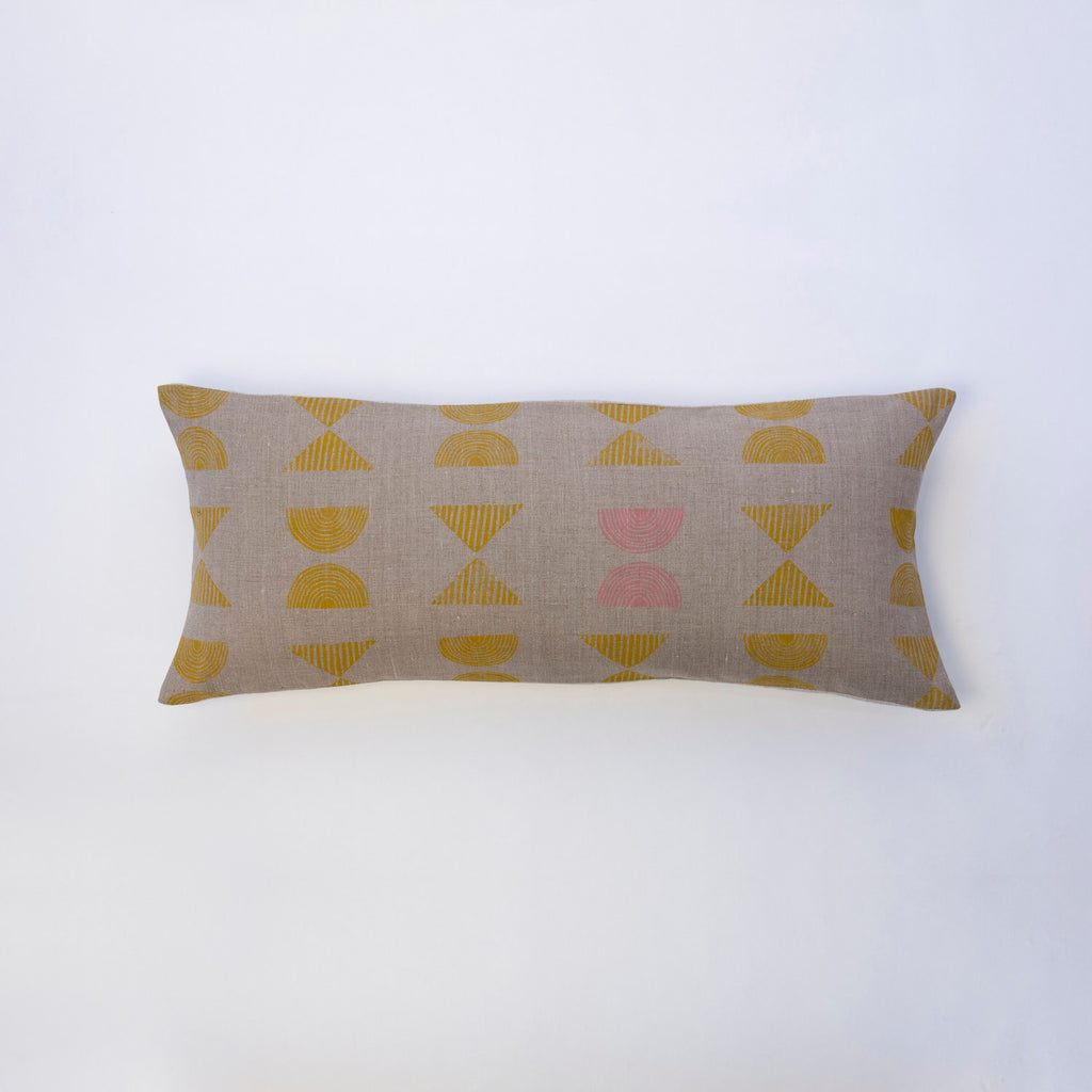 For Reasons Unknown - Zuni Lumbar Pillow