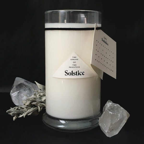 The Sphinx & The Priestess - Limited Edition Solstice Candle