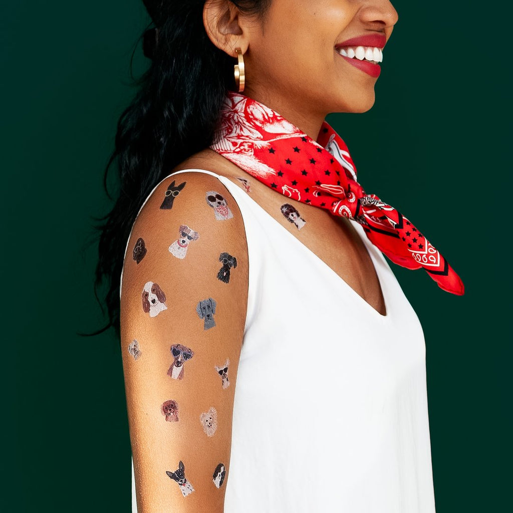 Tattly - Dog Days Sheet