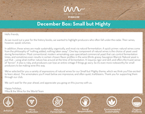 """December Club Theme: """"Small But Mighty"""""""