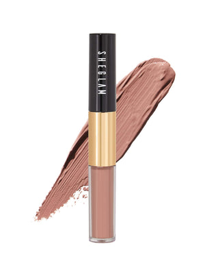 Eye Candy Double Touch Matte Lip Gloss 205 Dusty Rose