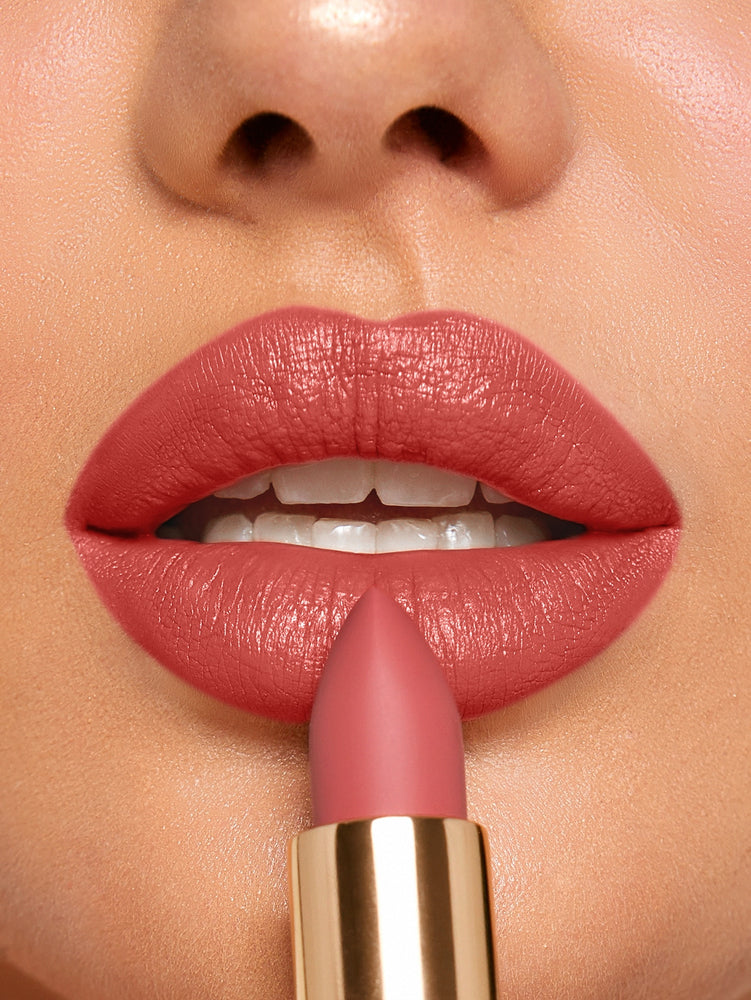 MATTE ALLURE Lipstick - RETRO ROSE