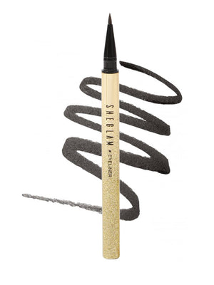 LINE & DEFINE Waterproof Liquid Eyeliner - Brown