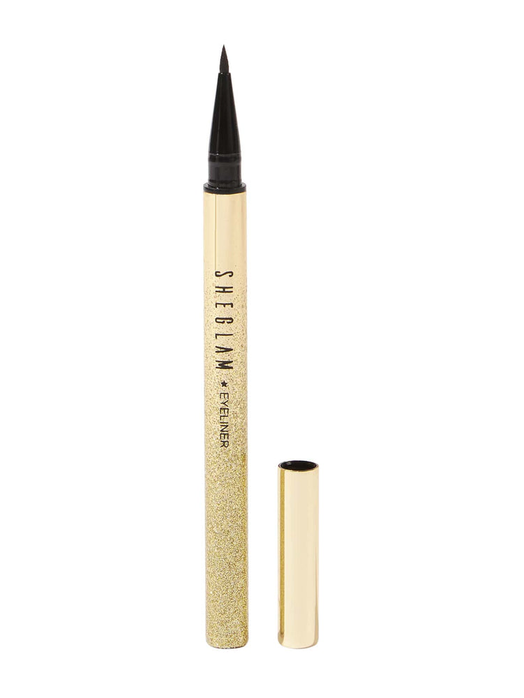 LINE & DEFINE Waterproof Liquid Eyeliner - Black
