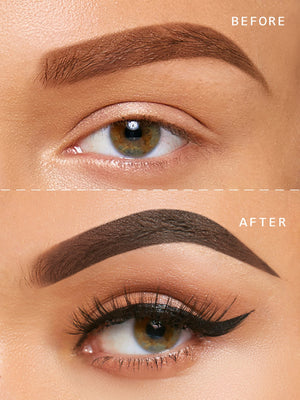 Waterproof Tinted Eyebrow Cream - DARK BROWN